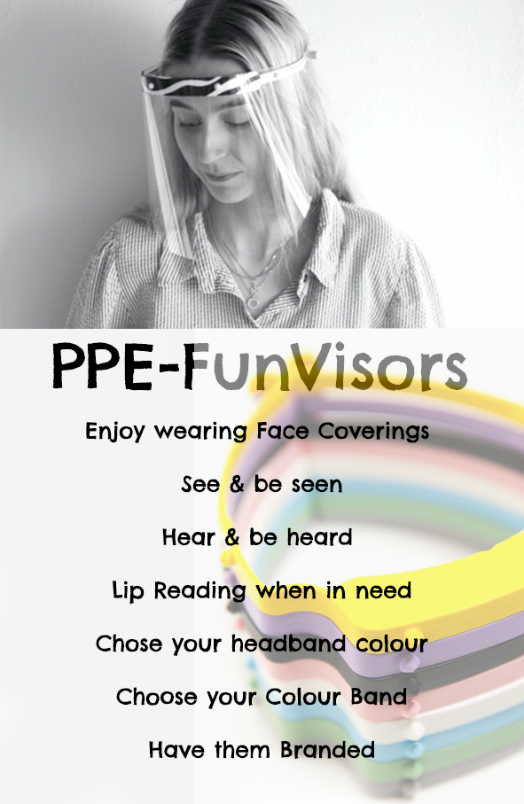 FunVisors & face coverings